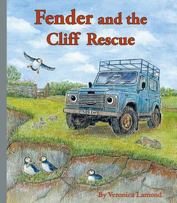 Cover Fender and the Cliff Rescue - Landybooks