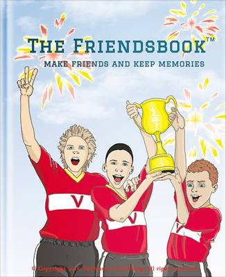 Cover The Friendsbook: Football