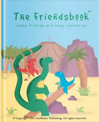 Cover The Friendsbook: Dinosaurs