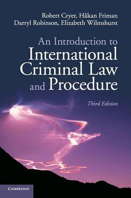 An Introduction to International Criminal Law and Procedure (Hardback)