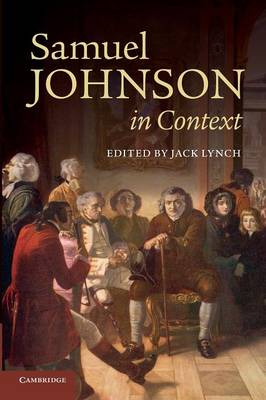 Samuel Johnson in Context - Literature in Context (Paperback)