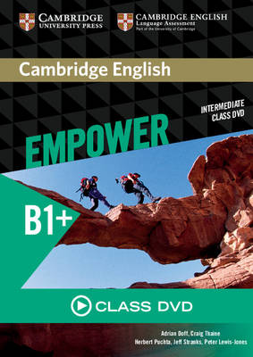 Cambridge English Empower Intermediate Class DVD (DVD video)