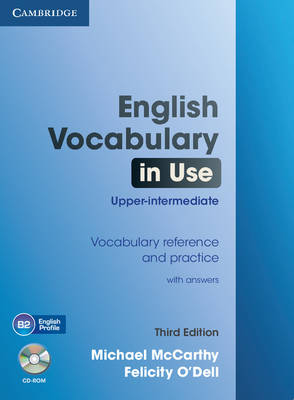 English Vocabulary in Use Upper-intermediate with Answers and CD-ROM (Mixed media product)