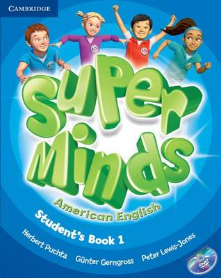 Super Minds American English Level 1 Student's Book with DVD-ROM (Mixed media product)