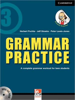 Grammar Practice Level 3 Paperback with CD-ROM: A Complete Grammar Workout for Teen Students (Mixed media product)