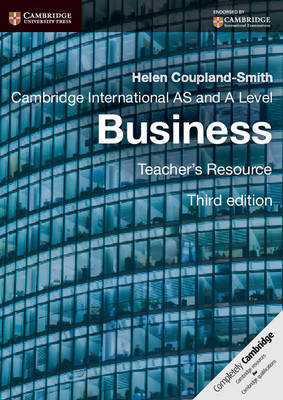 Cambridge International AS and A Level Business Teacher's Resource CD-ROM - Cambridge International Examinations (CD-ROM)