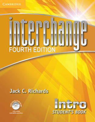 Interchange Intro Student's Book with Self-Study DVD-ROM - Interchange Fourth Edition (Mixed media product)