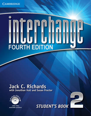Interchange Level 2 Student's Book with Self-Study DVD-ROM - Interchange Fourth Edition (Mixed media product)