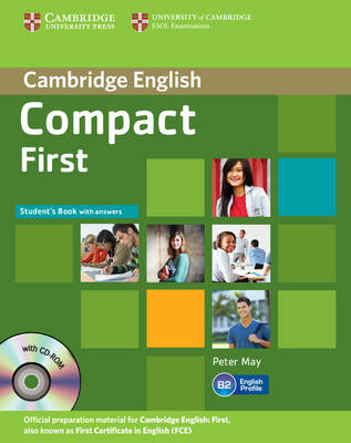 Compact First Student's Book with Answers with CD-ROM (Mixed media product)