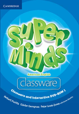 Super Minds American English Level 1 Classware and Interactive DVD-ROM (Mixed media product)