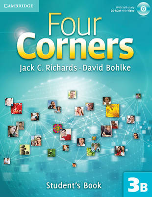 Four Corners Level 3 Student's Book B with Self-study CD-ROM and Online Workbook B Pack (Mixed media product)