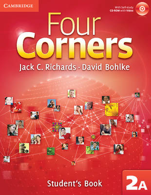 Four Corners Level 2 Student's Book A with Self-study CD-ROM and Online Workbook A Pack (Mixed media product)