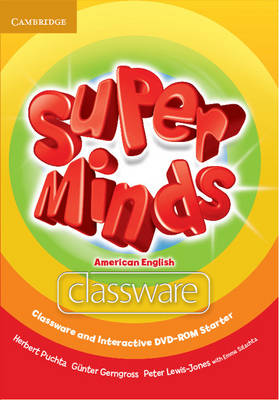 Super Minds American English Starter Classware and Interactive DVD-ROM (Mixed media product)