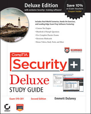 CompTIA Security+ Deluxe Study Guide: Exam SY0-301 (Hardback)