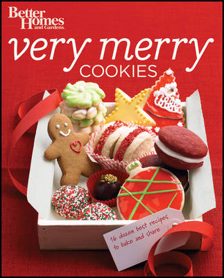 Better Homes & Gardens Very Merry Cookies (Paperback)