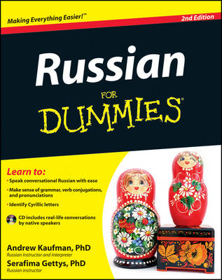 Russian For Dummies (Mixed media product)