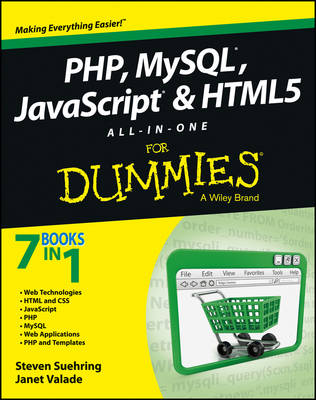 PHP, MySQL, JavaScript & HTML5 All-in-one For Dummies (Paperback)