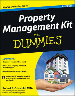 Property Management Kit For Dummies (Paperback)