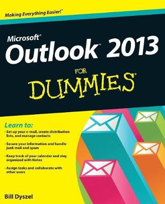 Outlook 2013 For Dummies (Paperback)