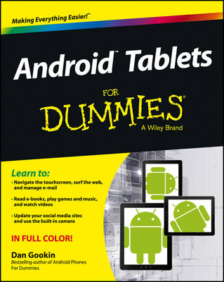 Android Tablets For Dummies (Paperback)