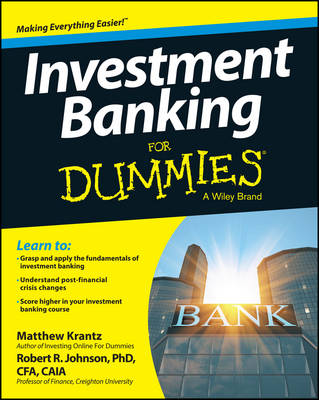 Investment Banking For Dummies(R) (Paperback)