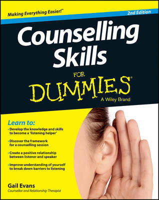 Counselling Skills For Dummies (Paperback)
