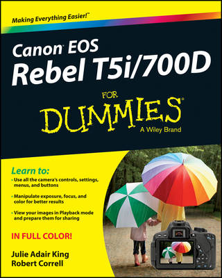 Canon EOS Rebel T5i/700D For Dummies (Paperback)