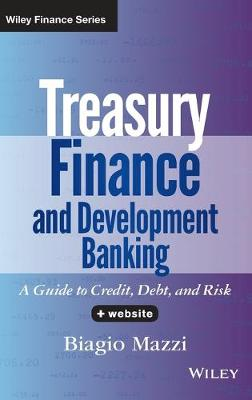 Treasury Finance and Development Banking: A Guide to Credit, Debt, and Risk + Website - Wiley Finance (Hardback)