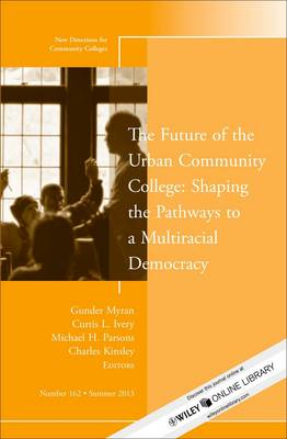 The Future of the Urban Community College: Shaping the Pathways to a Mutiracial Democracy: New Directions for Community College - J-B CC Single Issue Community Colleges 162 (Paperback)