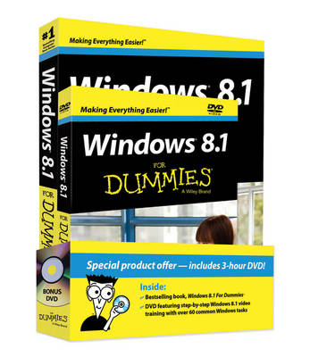 Windows 8.1 for Dummies Book + DVD Bundle (Paperback)