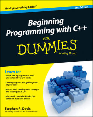Beginning Programming with C++ For Dummies (Paperback)