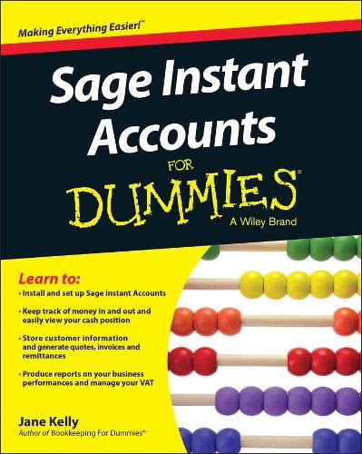 Sage Instant Accounts For Dummies (Paperback)