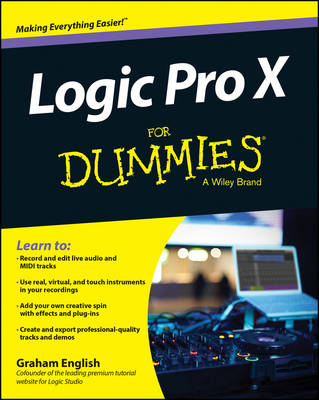 Logic Pro X For Dummies (Paperback)