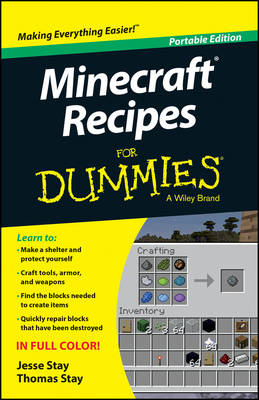 Minecraft Recipes For Dummies (Paperback)