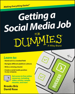Getting a Social Media Job For Dummies (Paperback)