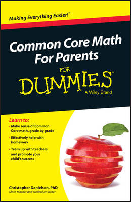 Common Core Math for Parents For Dummies with Videos Online (Paperback)