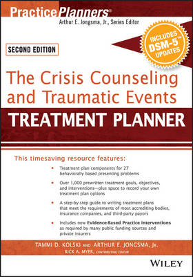 The Crisis Counseling and Traumatic Events Treatment Planner, with DSM-5 Updates - PracticePlanners (Paperback)