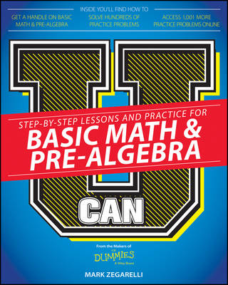 U Can: Basic Math & Pre-Algebra For Dummies (Paperback)