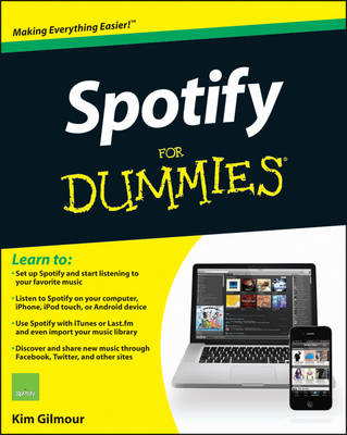 Spotify For Dummies (Paperback)