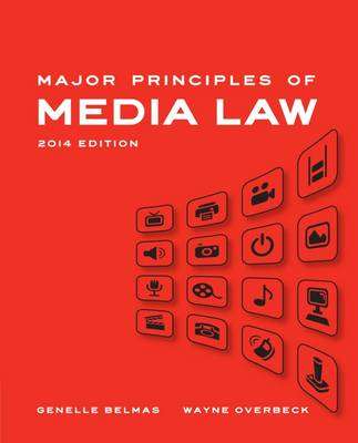Major Principles of Media Law 2014 (Paperback)