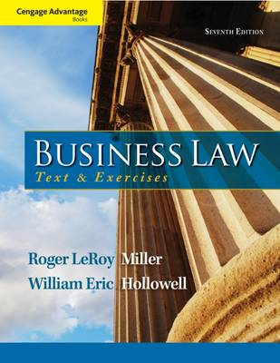 Cengage Advantage Books: Business Law: Text and Exercises (Paperback)
