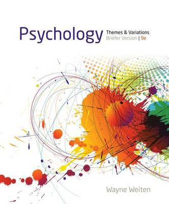 Psychology: Themes and Variations, Briefer Version (Loose-leaf)