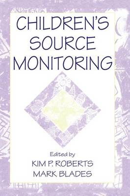 Children's Source Monitoring (Paperback)