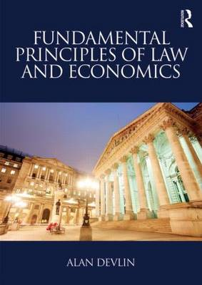 Fundamental Principles of Law and Economics (Paperback)