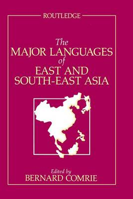 The Major Languages of East and South-East Asia (Hardback)