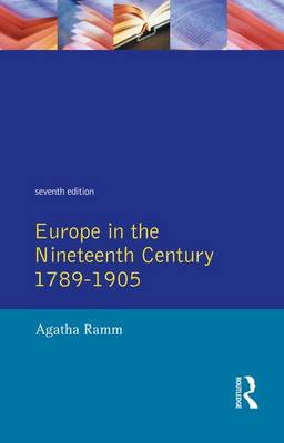 Grant and Temperley's Europe in the Nineteenth Century, 1789-1905 (Hardback)