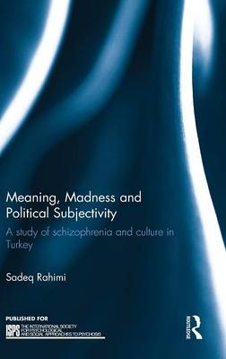 Meaning, Madness and Political Subjectivity: A Study of Schizophrenia and Culture in Turkey - The International Society for Psychological and Social Approaches to Psychosis Book Series (Hardback)
