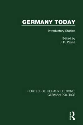 Germany Today: Introductory Studies (Hardback)