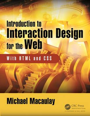 Cover Introduction to Web Interaction Design: With HTML and CSS