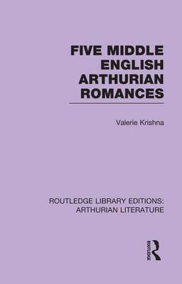 Cover Five Middle English Arthurian Romances